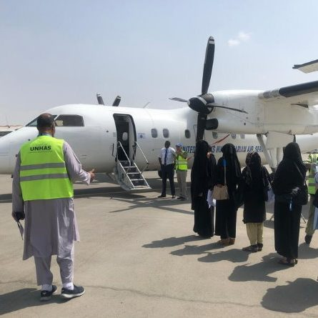 First humanitarian flight to Kabul since Taliban takeover marks turning point in crisis